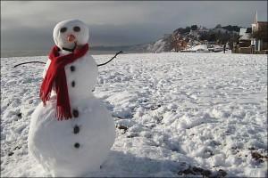 snowman beach